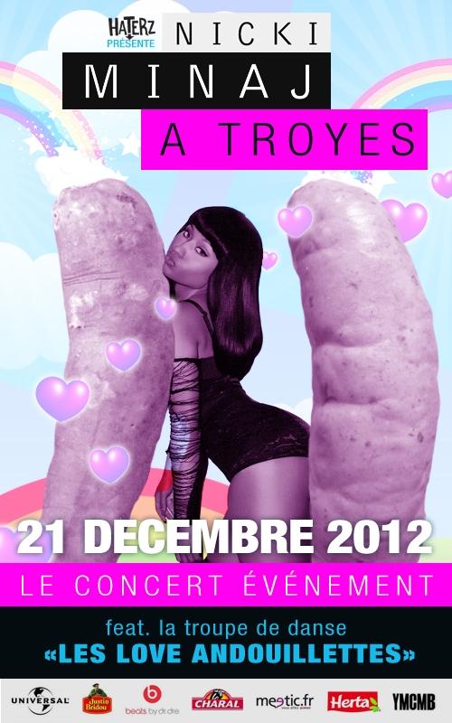 Nicki Minaj Le Crew Des Haterz Amour Et Jalousie