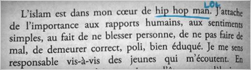 La Fouine - Drole de parcours - Le Livre