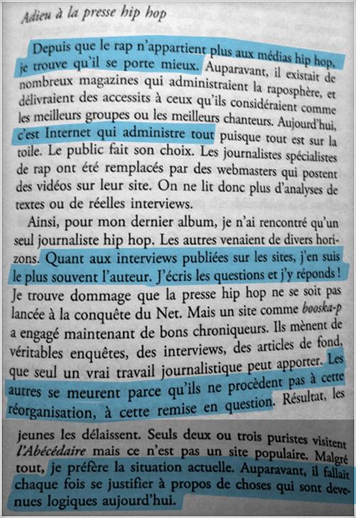 La Fouine - Drole de parcours - Le Livre - presse
